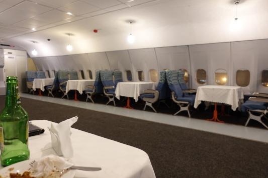 DC-10 restaurant
